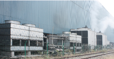 Project of Ezhou iron and steel works